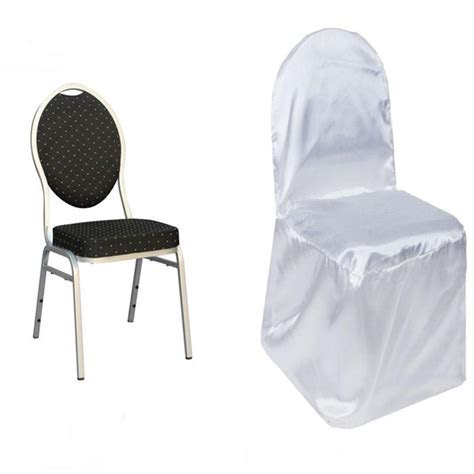Satin Banquet CHAIR COVERS Wedding Reception Party