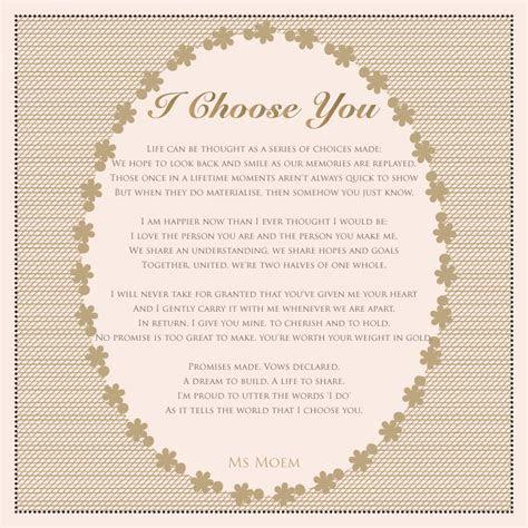 13 Original Wedding Poems   Ms Moem   Poems. Life. Etc.