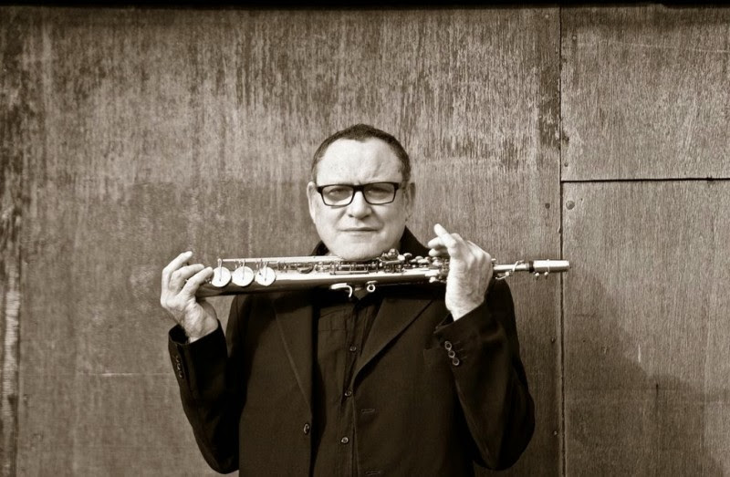 """Gilad Atzmon poses with one of his beloved instruments. Though born in Israel, Atzmon's book """"The Wandering Who"""" questions the meaning of Jewish identity and Zionism."""