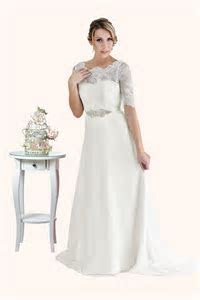 Elizabeth   Lace Wedding Dress with Sleeves