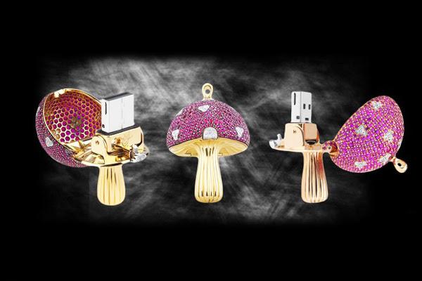 "perierga.gr - ""Μαγικό μανιτάρι"": Το ακριβότερο USB!"