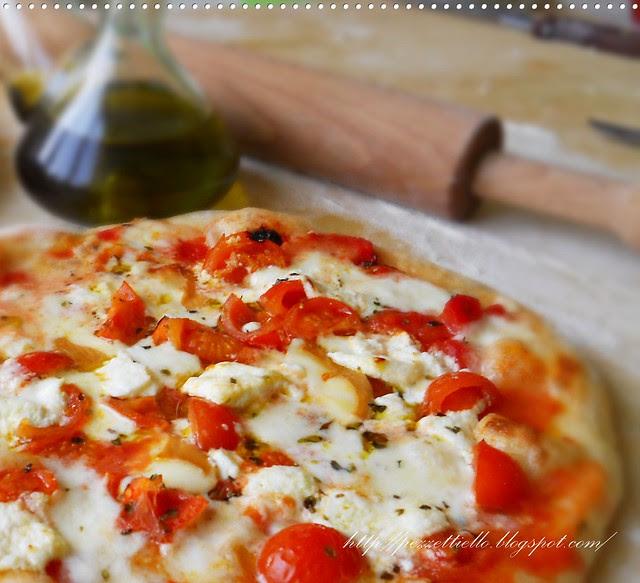 Pizza golosa con una nota affumicata