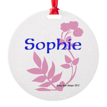 Sophie Name Ornament