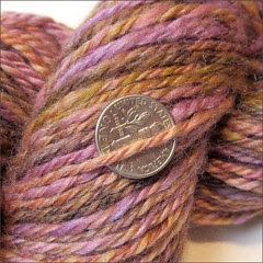 Zen 2 handspun, close up