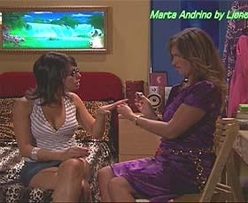Marta Andrino sensual no filme Vida Dupla
