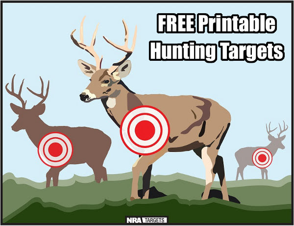 FREE Printable Hunting Practice Targets « Daily Bulletin
