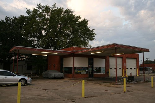 former service station(?) in longview