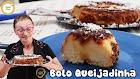 Receita - Veja a dona dirce fazendo um bolo pudim queijadinha   bolo queijadinha   pudim queijadinha #478