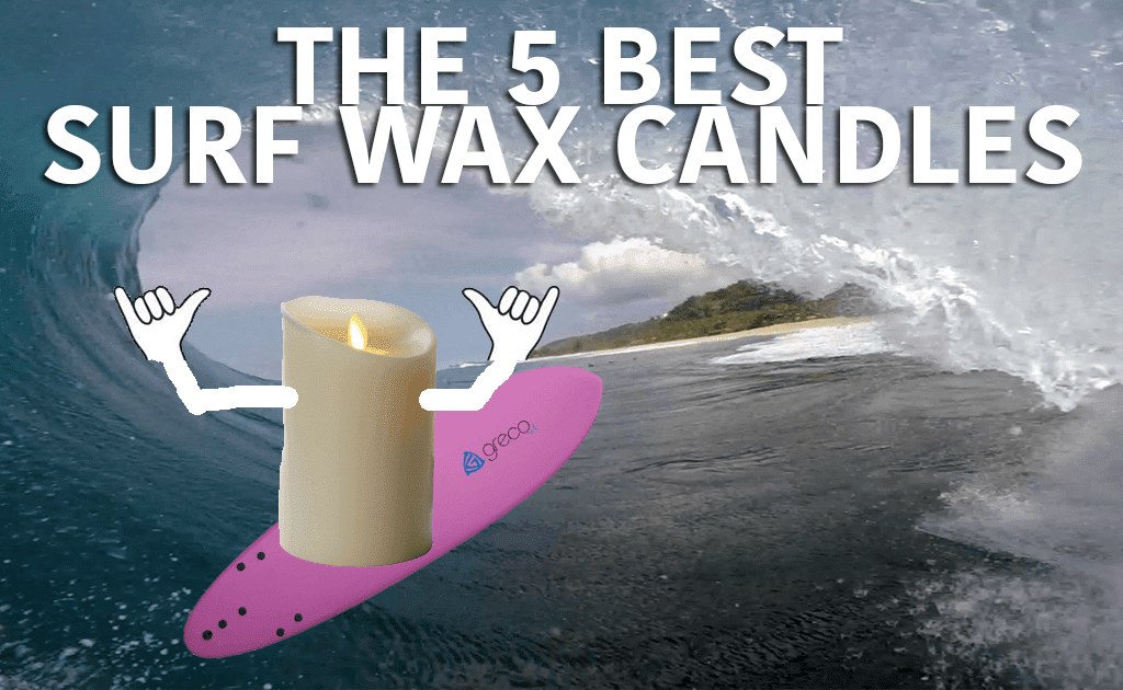 The 5 Best Surf Wax Candle Reviews - Fin Bin