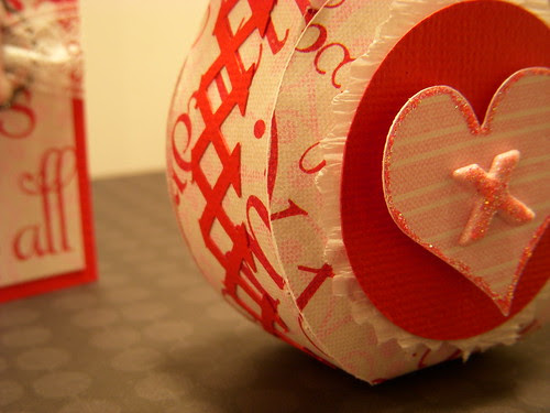 XOXO Gift Bag Detail