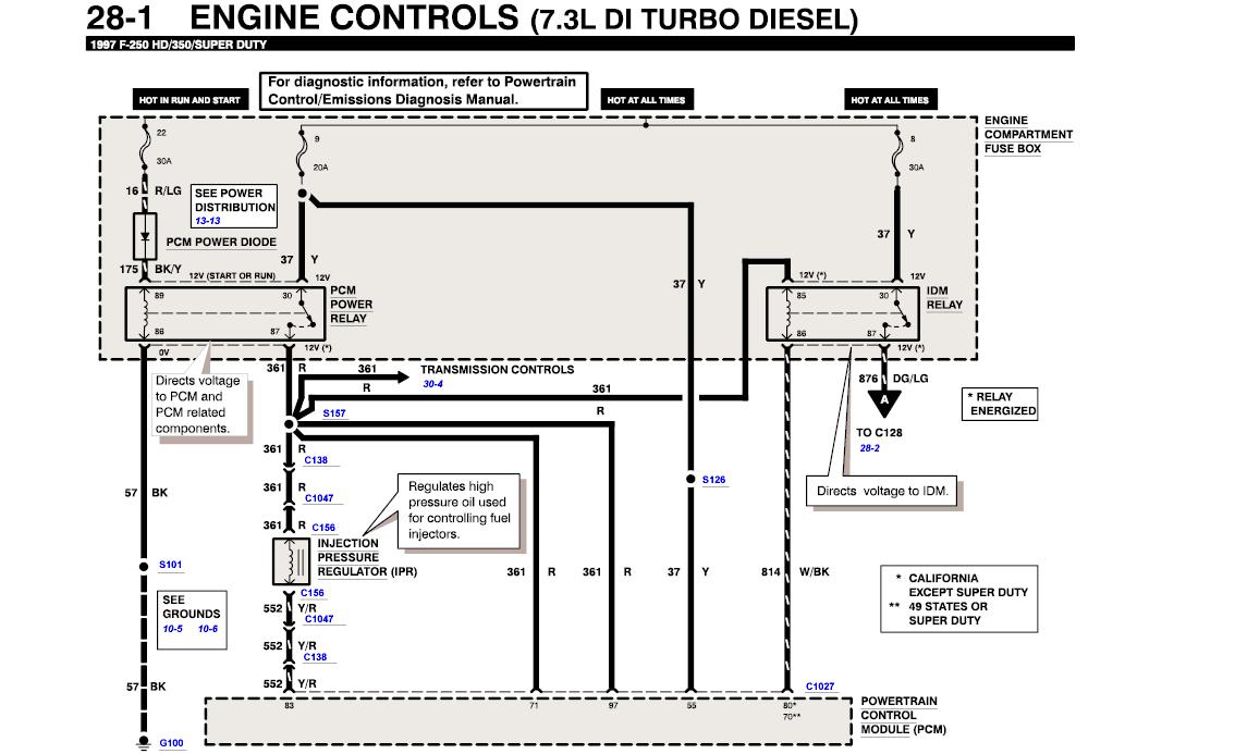 Ford Steering Column Wiring Diagram