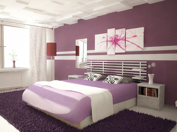 25 Impossible Purple Bedroom Ideas - SloDive