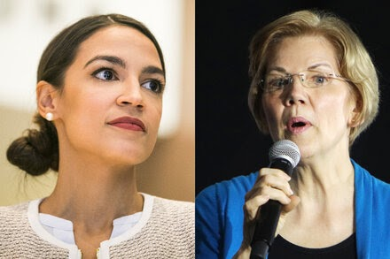 TREND ESSENCE:Ocasio-Cortez and Warren Pull Out of New Yorker Festival