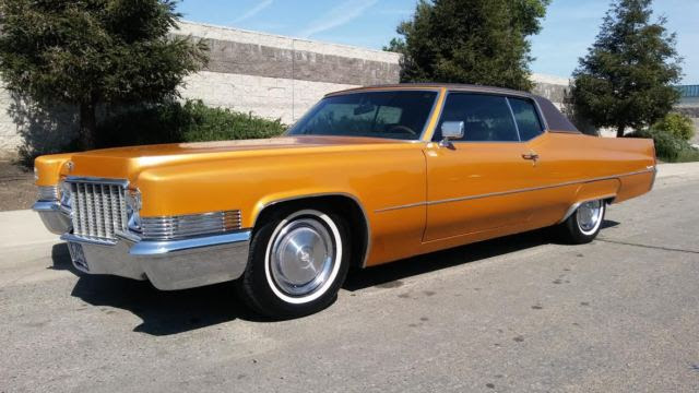 1970 Cadillac Coupe Deville * SOLID CALIFORNIA TURNKEY ...