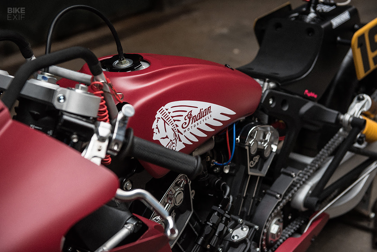 Drag Bike: A 130 hp nitrous-fueled Indian Scout Bobber ...