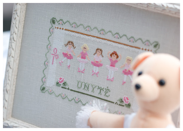 Little Ballerinas (Country Cottage Needleworks)