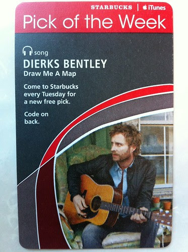 Starbucks iTunes Pick of the Week - Dorris Bentley - Draw Me A Map