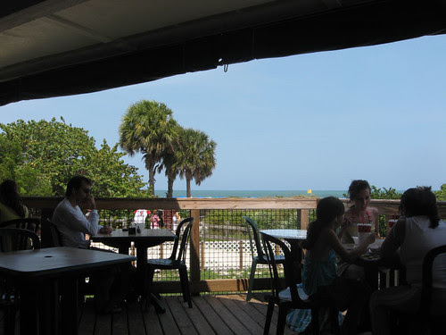 View of the Atlantic from Lighthouse Cafe...