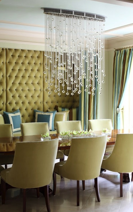 Built In Alcove - Contemporary - dining room - Tobi Fairley