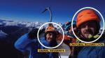 Se encontraron los cuepos de los tres turistas, dos chilenos y un ruso que no ha sido identificado.(FB: Cristóbal Bizarri)