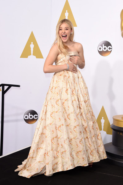 Chloe Grace Moretz - 87th Annual Academy Awards Press Room