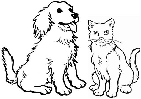 coloring page dog puppy pictures  color