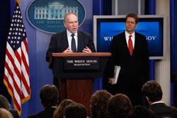 John Brennan and Jay Carney. Click image to expand.