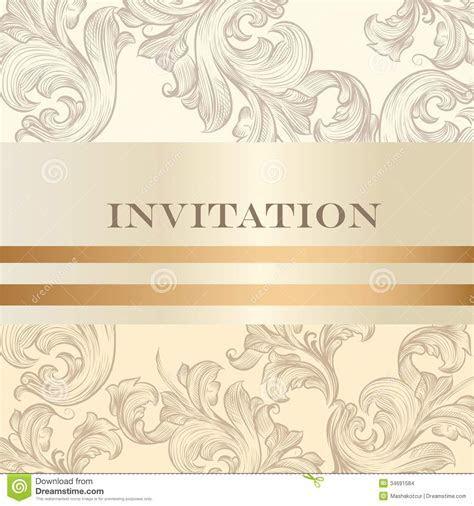 Wedding Invitation Card For Design Stock Images   Image