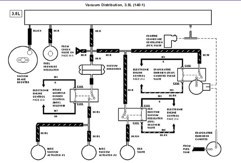 Engine Hose Diagram