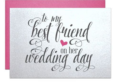 Best Friend Wedding Gift