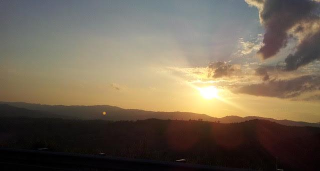 Sunset - Mt Mee