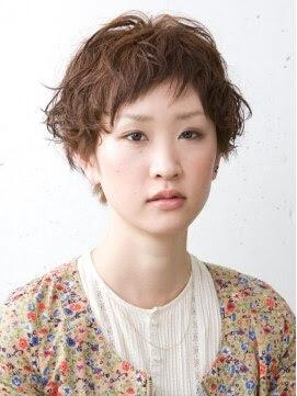 【2016年春版】ショート デジタルパーマのヘアスタイル・髪型  - ショートヘア パーマ 女性 画像