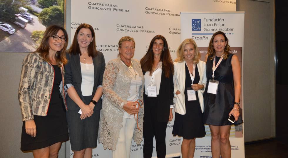 Panelistas del IV Foro Women Working for the World, celebrado en Madrid.
