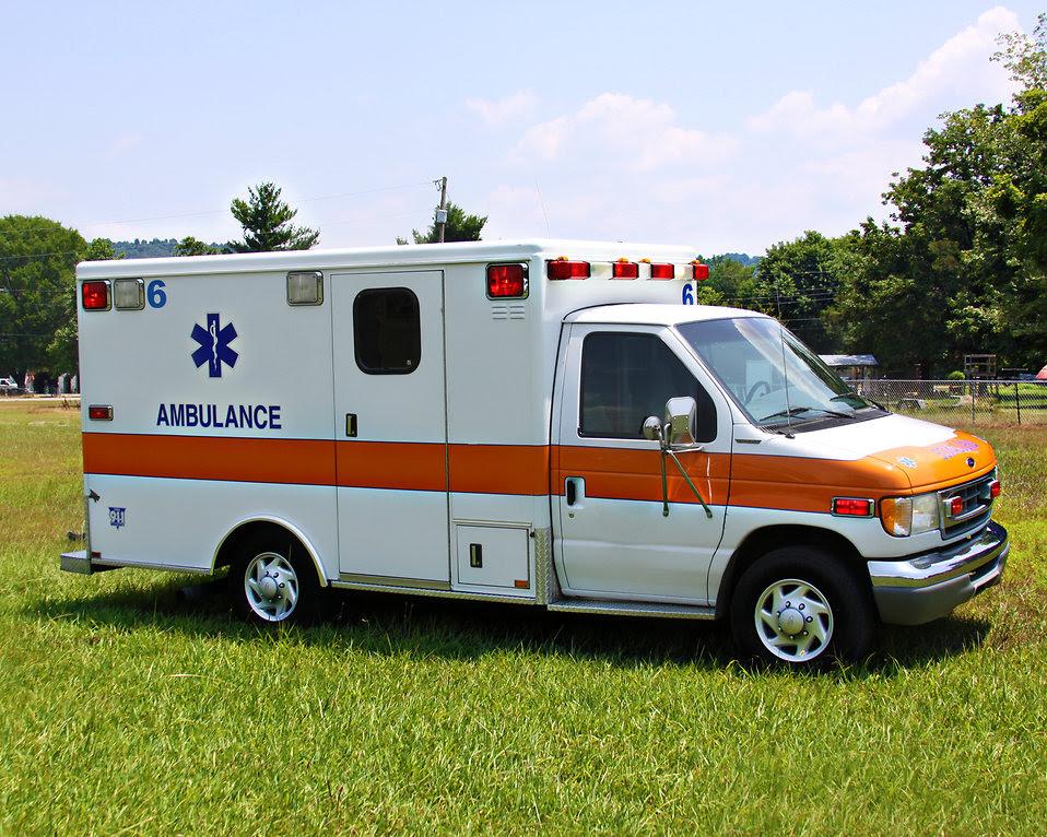 Ambulance | Free Stock Photo | An ambulance parked on the ...