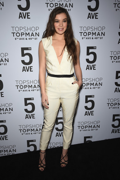 Hailee Steinfeld Actress Hailee Steinfeld attends the Topshop Topman New York City flagship opening dinner at Grand Central Terminal on November 4, 2014 in New York City.