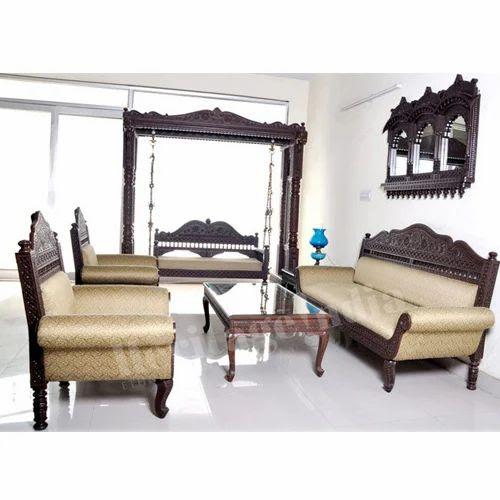 Modern Contemporary Wooden Sofa