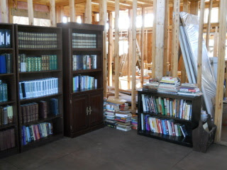 More House Library Books in Shelves