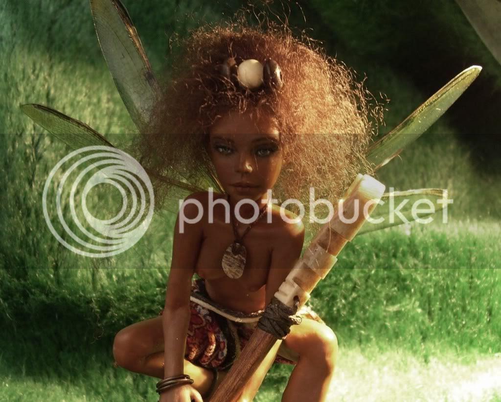 Zahra, african fairy on Chura
