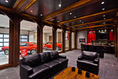 20 Garage Man Caves For Football Season Home Matters