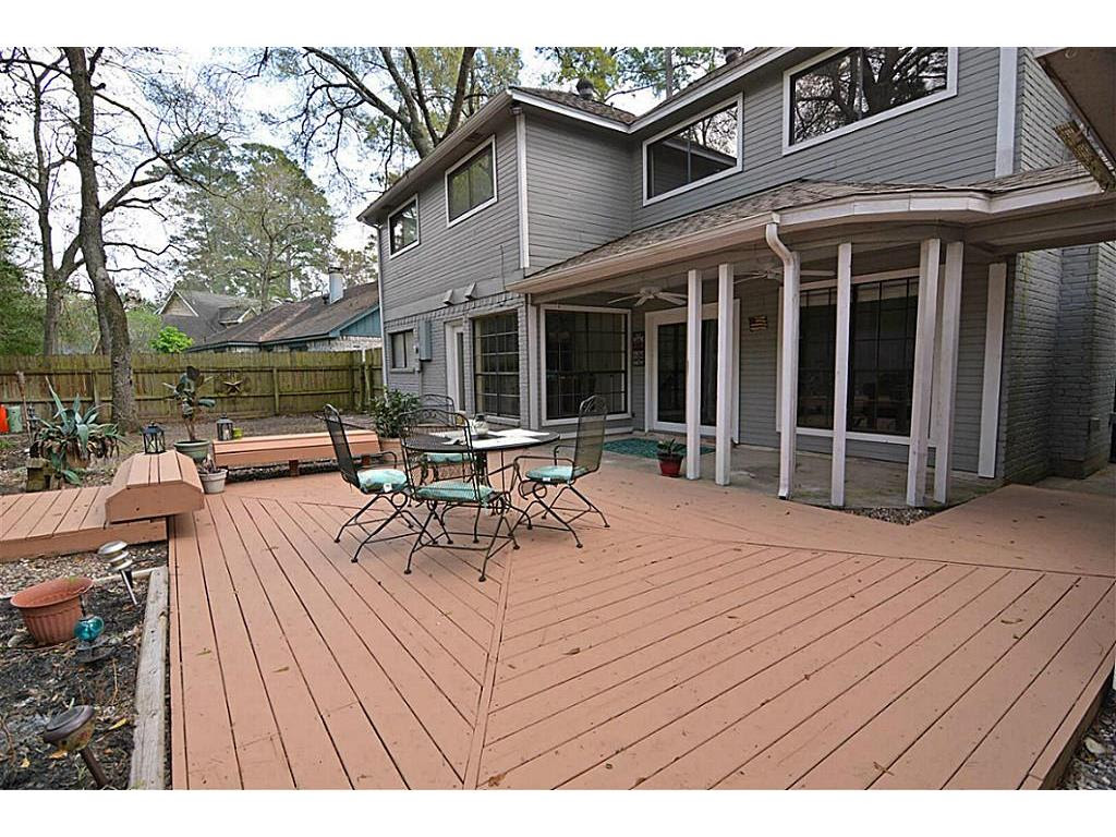 Woodlands Backyard - home design dimensions