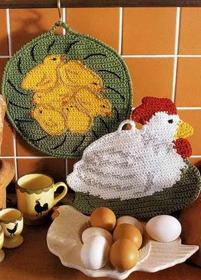 Прихватки Прихватки Курица с цыплятами