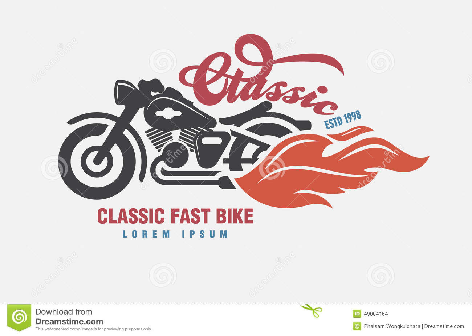 Logo Motor Club . Stock Vector - Image: 49004164