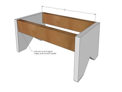 simple step stool plans ana white