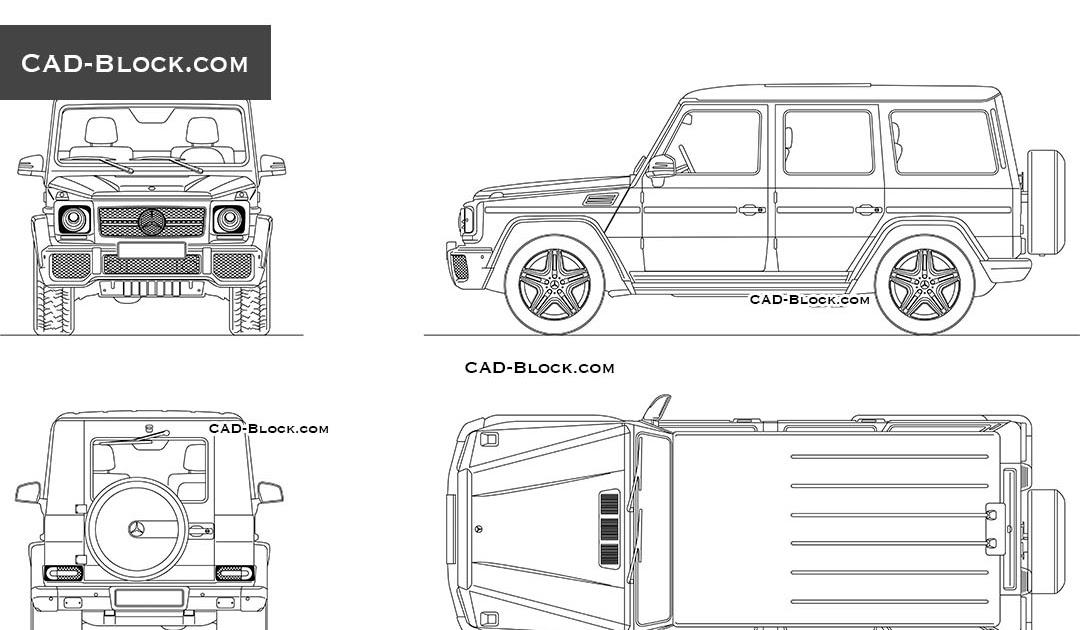 3 Cad Block Jeep Download