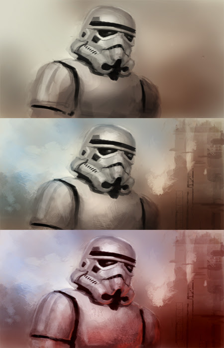 how to paint stormtrooper