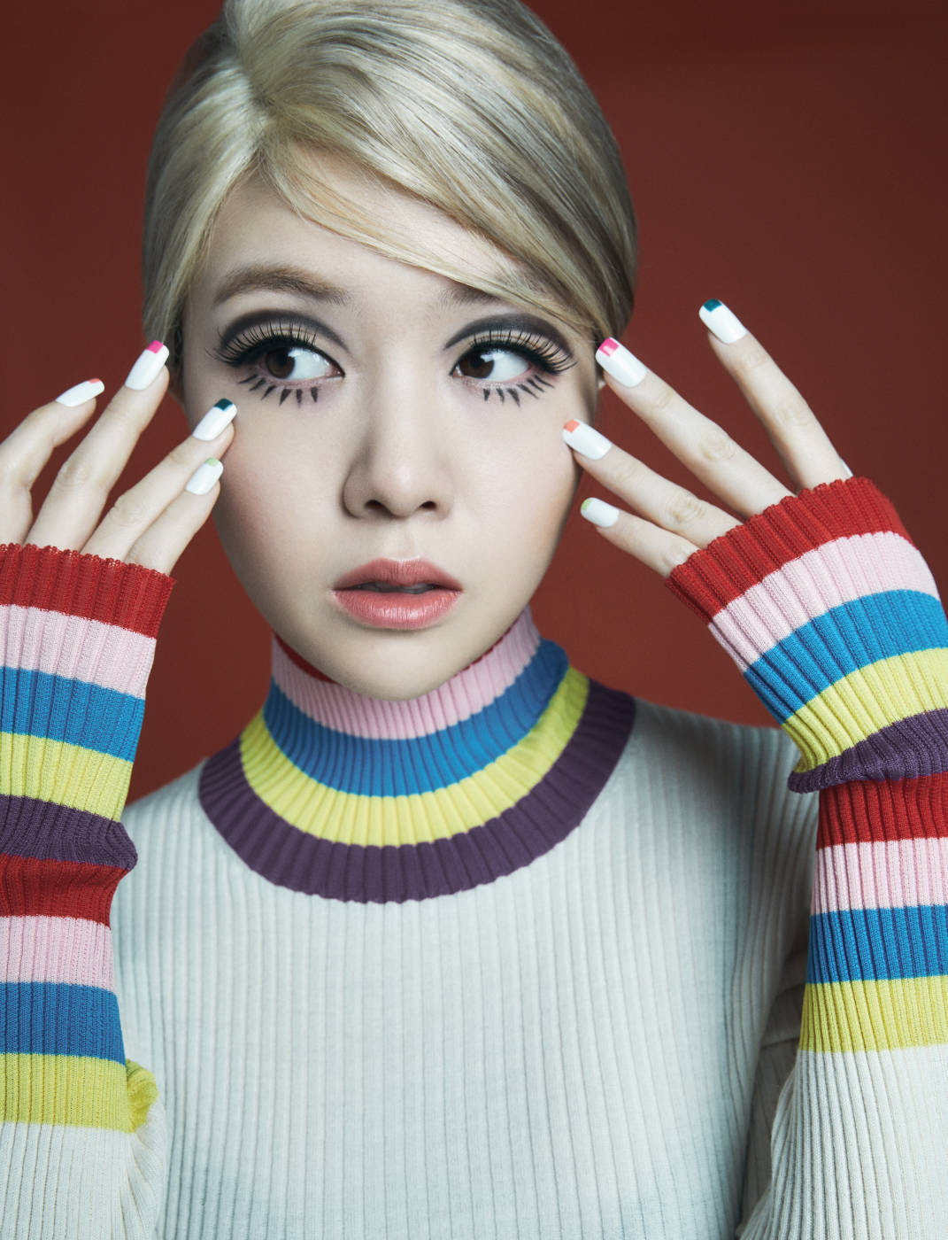 Mina (Girl's Day) - Allure Magazine January Issue '17