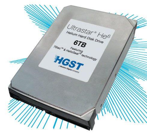 Western Digital estrena el primer disco duro de 6TB