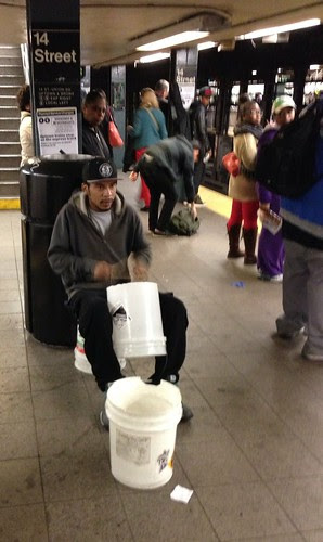 Drummer, 14th St. Station