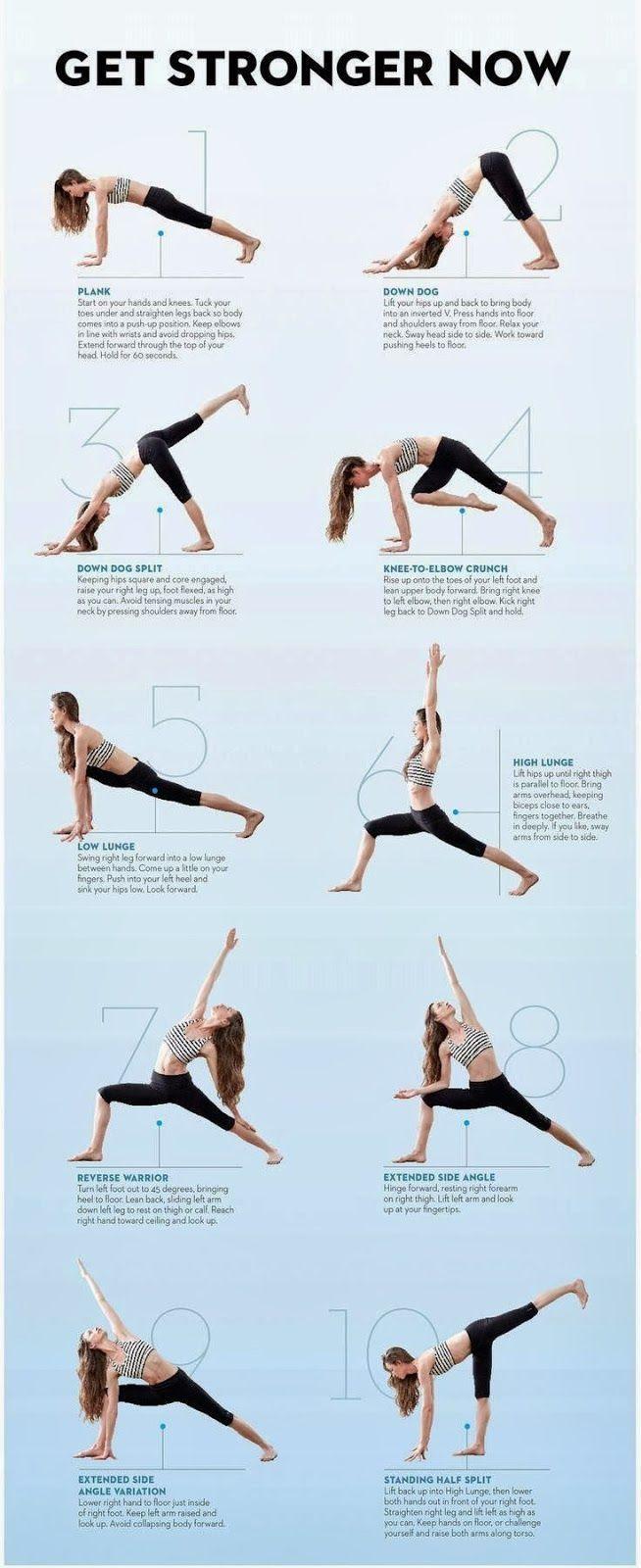 Yoga Poses For Balance And Strength