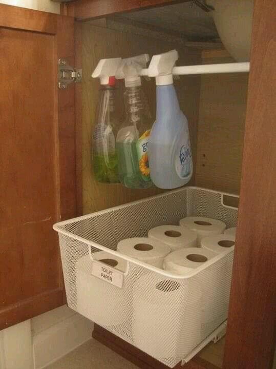 Toiletaries Storage Under The Sink mod